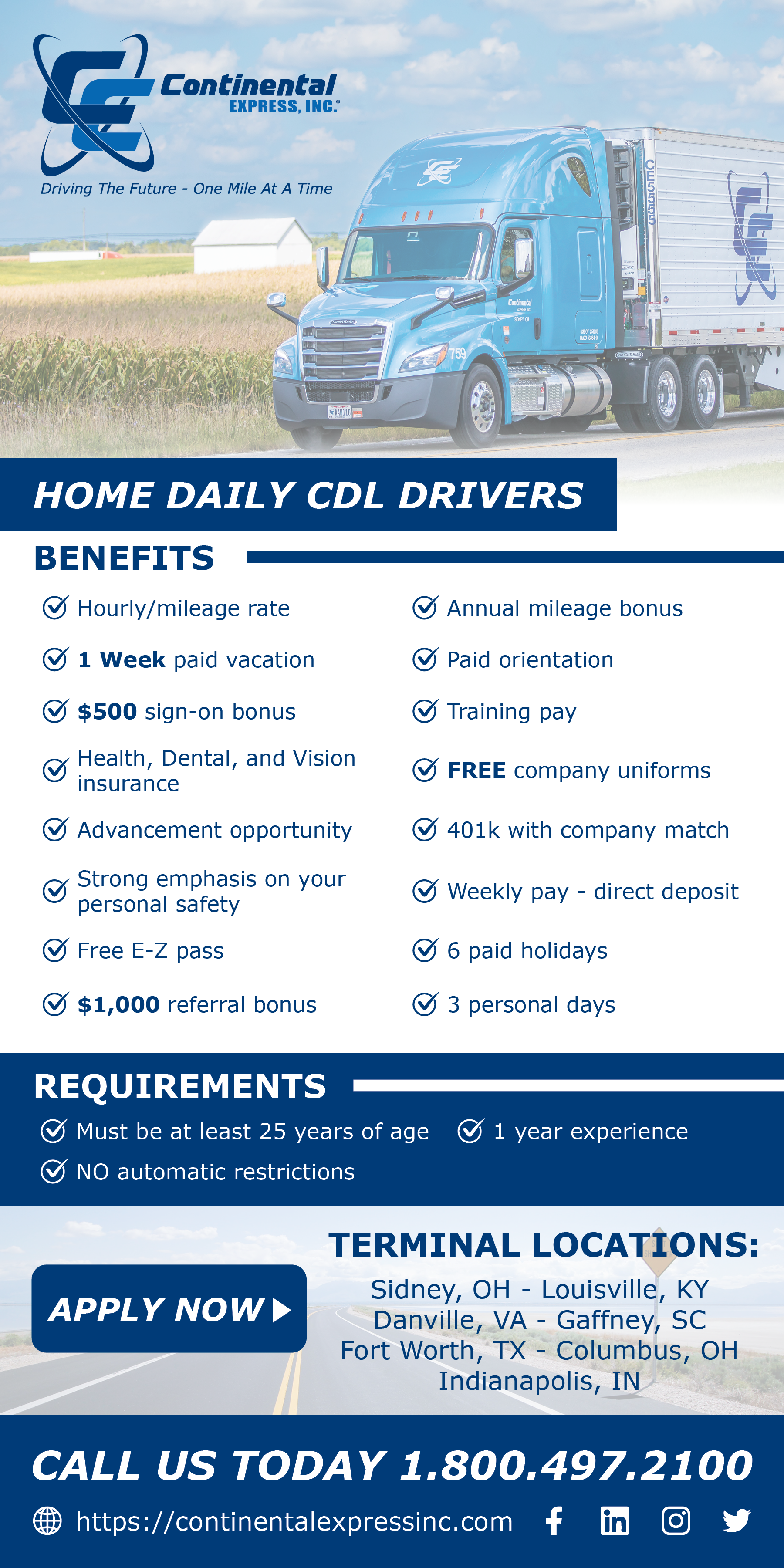 🚚💲💲💲 CDL-A Truck Drivers 🚚 💲💲💲HOME DAILY - transportation ...